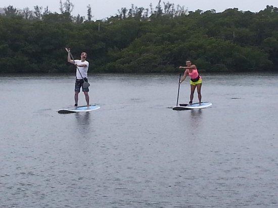 Sarasota Paddleboard Company: rainy day paddle