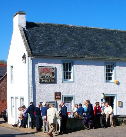 Rosemarkie, UK: Visitors love Groam House Museum