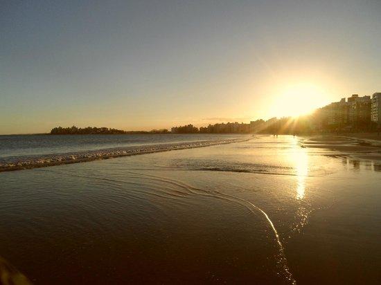 Morro Beach : Playa en sunset