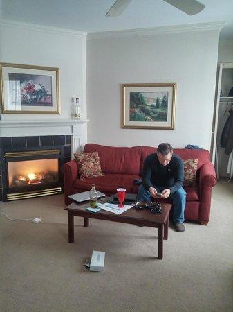 The Bethel Inn Resort: living room