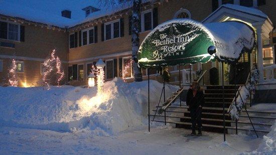 The Bethel Inn Resort: Front entrance