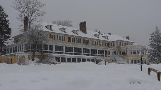 The Bethel Inn Resort: the back of the Inn