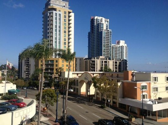Holiday Inn Express San Diego Downtown : Nice view