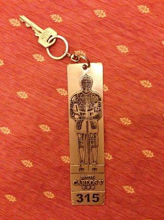 BEST WESTERN Carlos V : Detalhe chaves