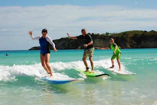 Punta Cana Surf Adventure: First time any of us had surfed