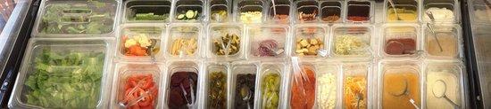 Crab Shack: Salad bar