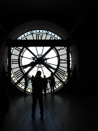 Musée d'Orsay : Behind the clock