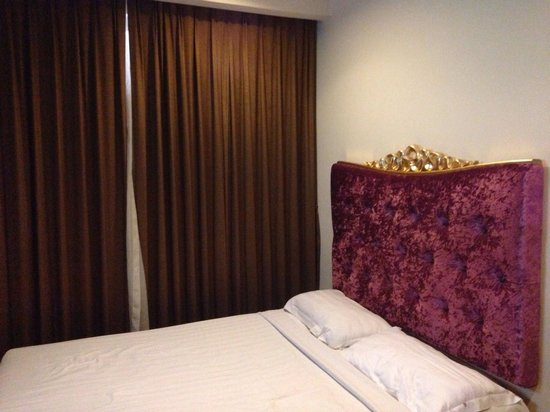 Jin Shan Hotel Chinatown : Deluxe double bed room