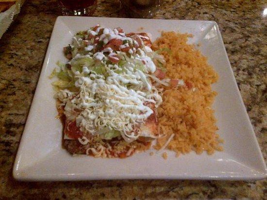 Plaza Azteca : Burritos Supreme