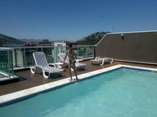 Angra Beach Hotel: Area da Piscina