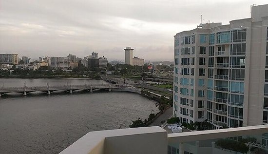 Condado Lagoon Villas at Caribe Hilton: View from our suite
