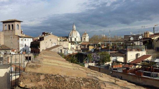Navona Palace Residenze di Charme: Vue de la Terrasse