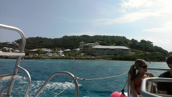 Scrub Island Resort, Spa & Marina, Autograph Collection : On ferry heading to beef island.