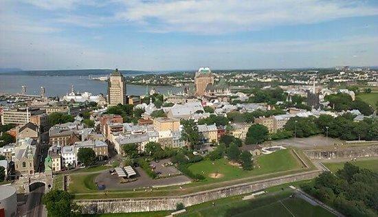 Hilton Quebec: View