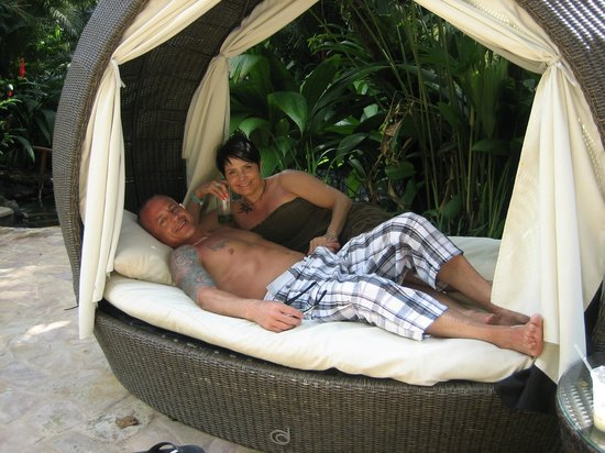 Tabacon Thermal Resort & Spa : shangra la