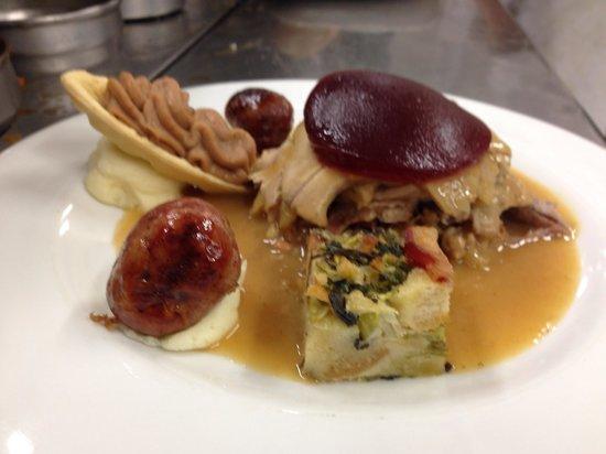 Restaurante Sir Winston Churchill's: Thanksgiving Turkey