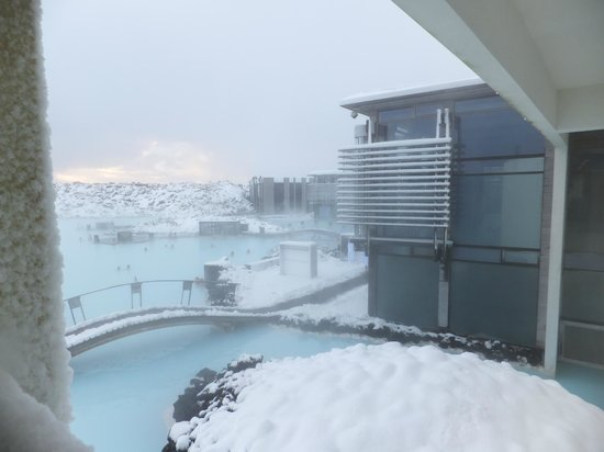 Blue Lagoon: view from upstairs