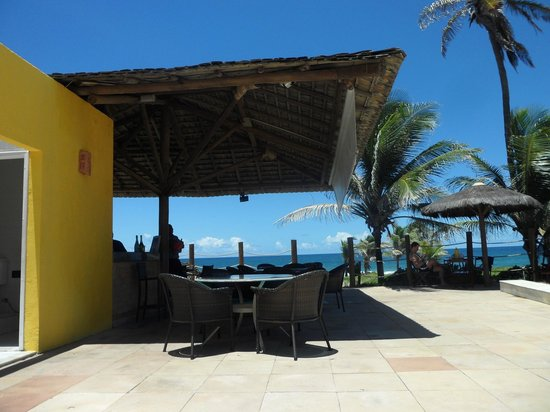 Villa Da Praia Hotel: Bar en la piscina