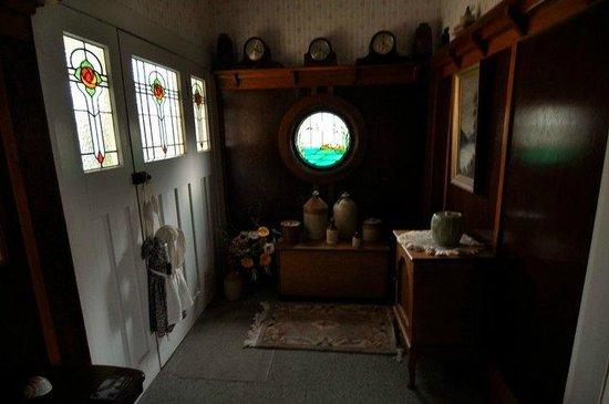 The Homestead: shared hallway