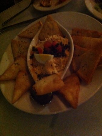 The George on the Riverwalk : Smoked salmon dip (delicious)