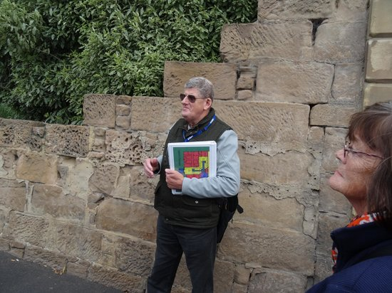 Hobart Convict Penitentiary: Our tour guide