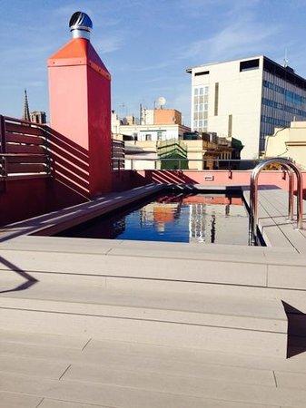 Aparthotel Arai: rooftop terrace