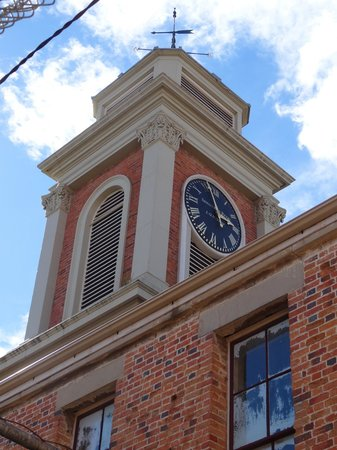 The Tench (Penitentiary Chapel Historic Site): The old clock tower