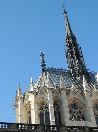 Sainte-Chapelle : Outside