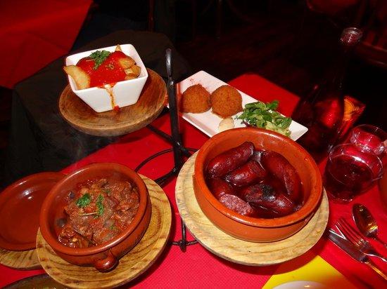Flamenco Tapas Restaurant: Tapas