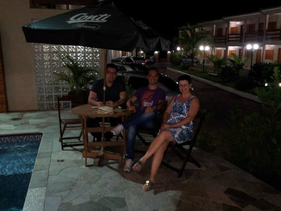Ville Park Hotel: Lanche na beira da piscina