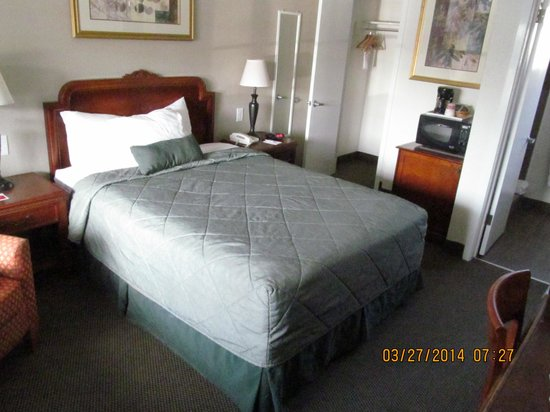 Ramada Limited Monterey: room 117