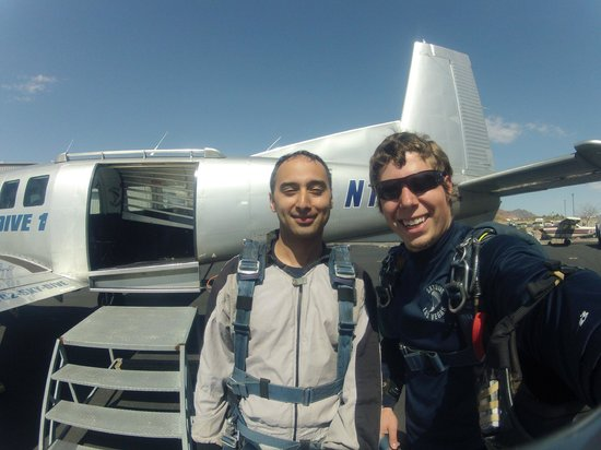 Skydive Las Vegas : Me and Mike by SkyDive1