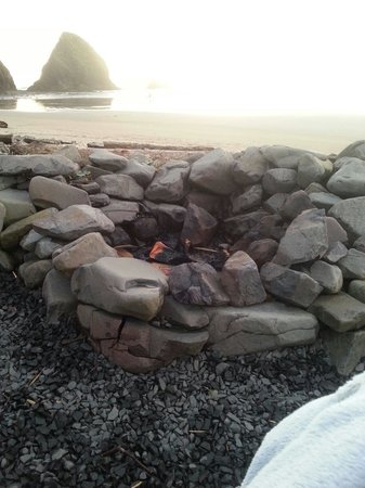 Ocean Point Inn & Spa: Fire pit