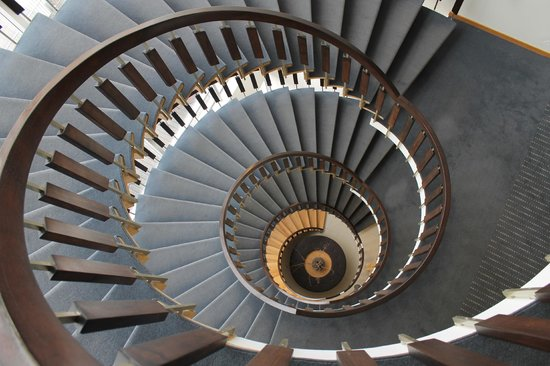 Icelandair Hotel Reykjavik Natura: Main Staircase