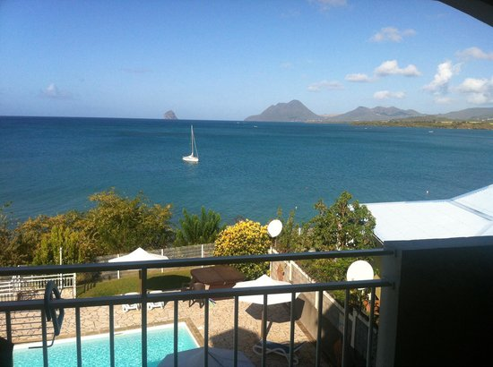 Hôtel Corail Residence: View from the balcony