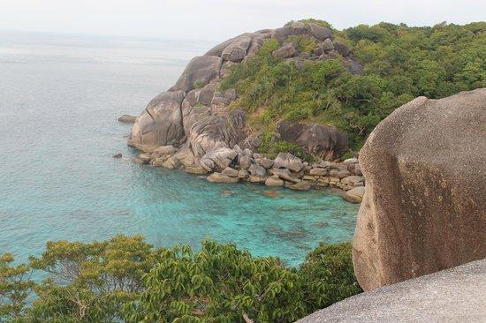 The Natural Resort: Симиланские острова вид со смотровой