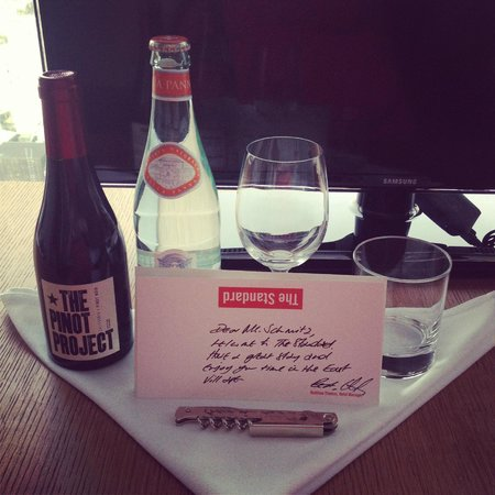 The Standard, East Village: Thoughful welcome amenity!