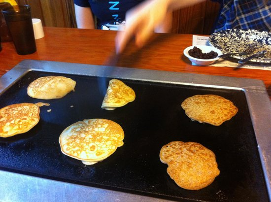 De Leon Springs State Park : Make your own pancakes.