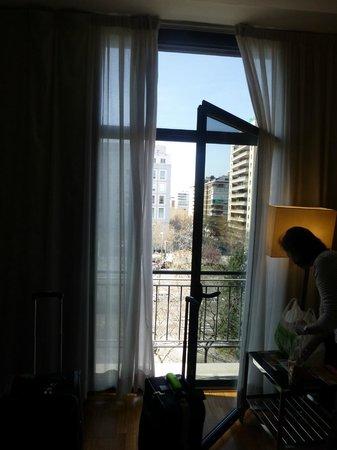 AC Hotel Aitana: door window