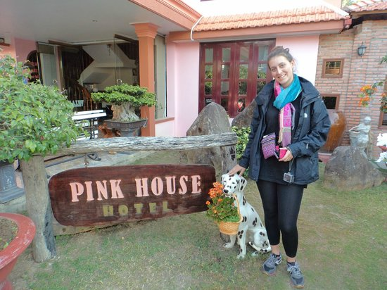 Villa Pink House : Quirky place