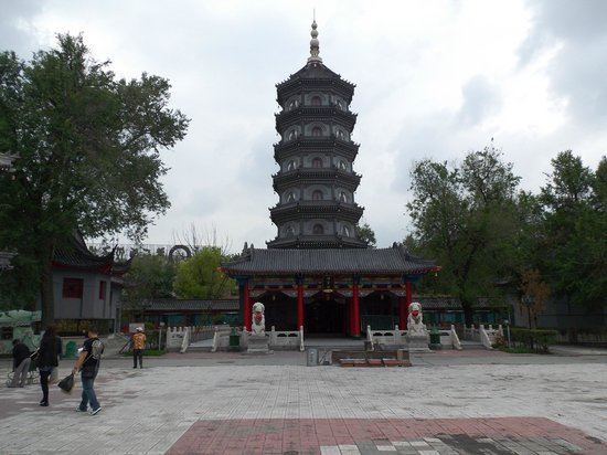 Temple of Bliss (Jile Si) : 塔