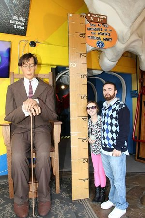 Guinness World Records Museum : Coolest thing is the entrance