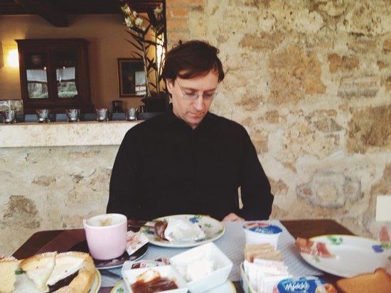 Villa Acquaviva: Breakfast