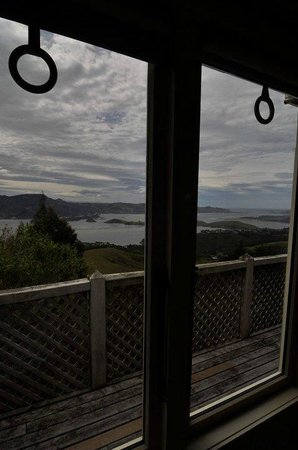 Larnach Castle Lodge : Beautiful view from Kate's Room