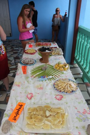 Cosol Tours: One stop served local snacks as part of the tour.
