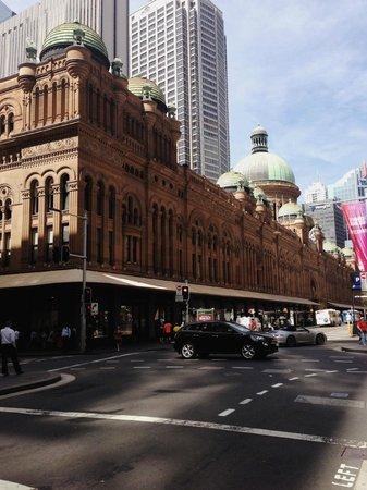 Hilton Sydney : Queen Victoria Building is right opposite Hilton