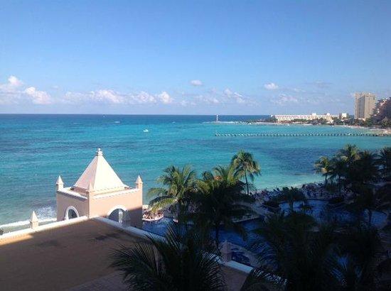 Hotel Riu Cancun: Vista desde habitación