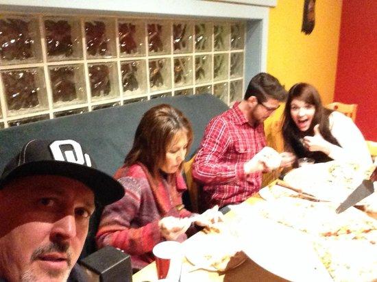 Peppino's Pizza & Subs : Boomer Sooner invasion.
