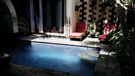 The Bali Dream Villa Seminyak: love d swimming pool area