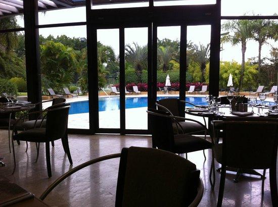 Hotel Transamerica Sao Paulo: The pool area.